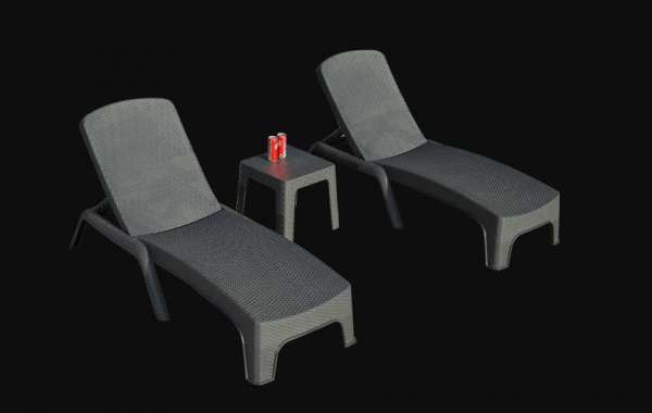 Garden Lounge Set Is Ideal For The Garden