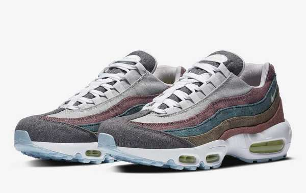 """New 2020 Nike Air Max 95 """"Vast Grey"""" CK6478-001 to release on  August 20th"""