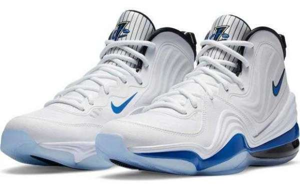 "Where can buy the Nike Air Penny 5 ""White/Royal Blue/Black"" Basketball Shoe?"