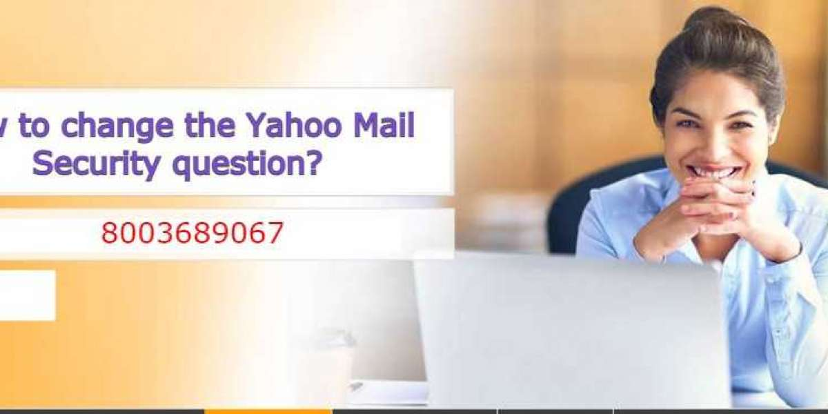 How to change the Yahoo Mail Security question?