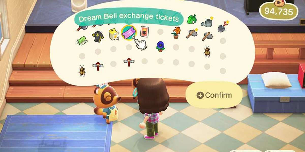 Nook Miles Ticket contributing for their future